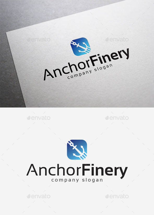 GraphicRiver Anchor Finery Logo 10004212