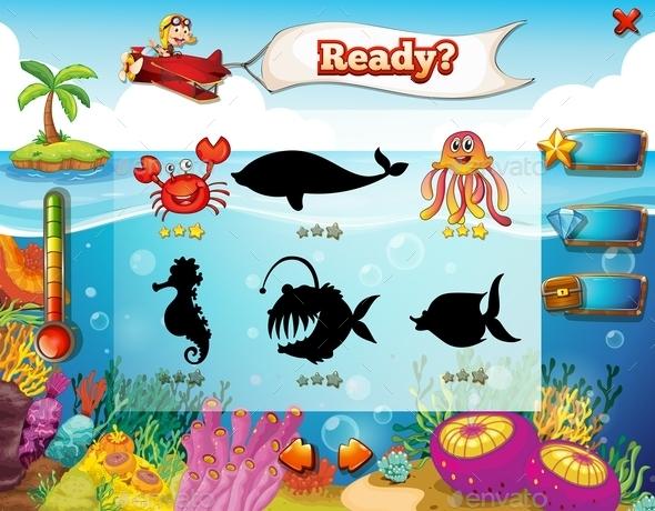 GraphicRiver Underwater Game 10004268