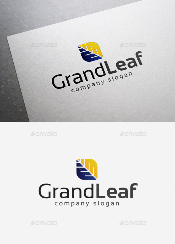 GraphicRiver Grand Leaf Logo 10004286