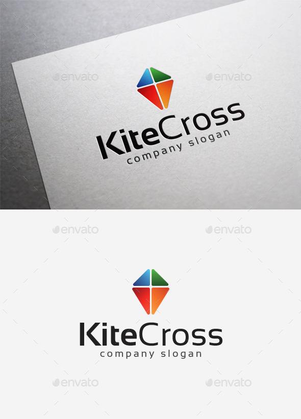 GraphicRiver Kite Cross Logo 10004405