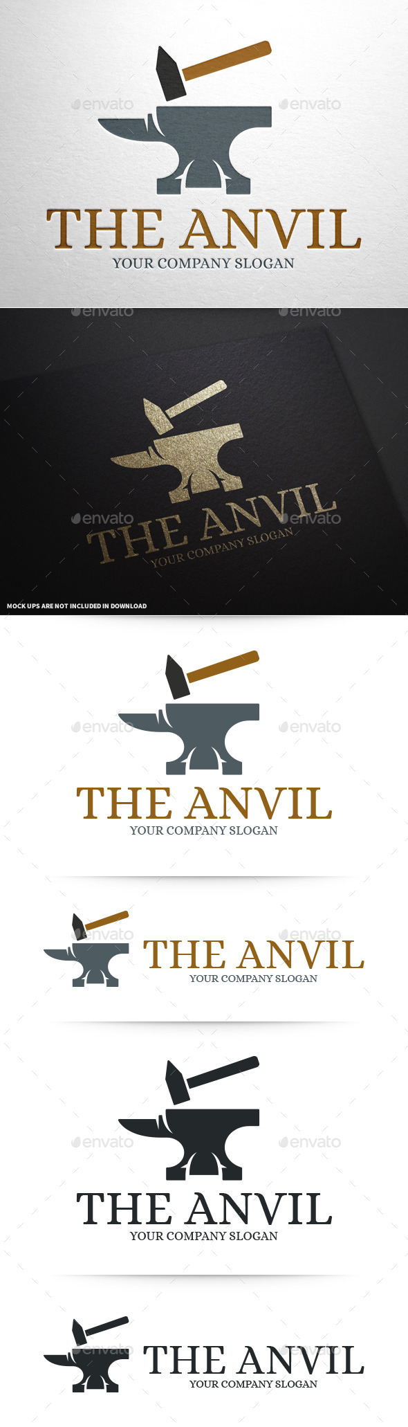 GraphicRiver Anvil Logo Template 10004444