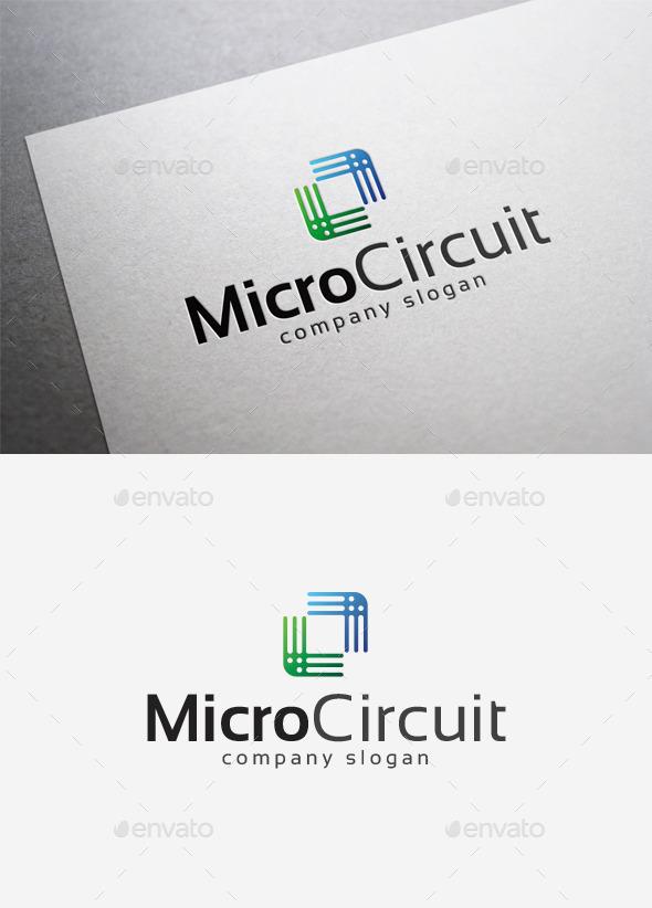 GraphicRiver Micro Circuit Logo 10004509