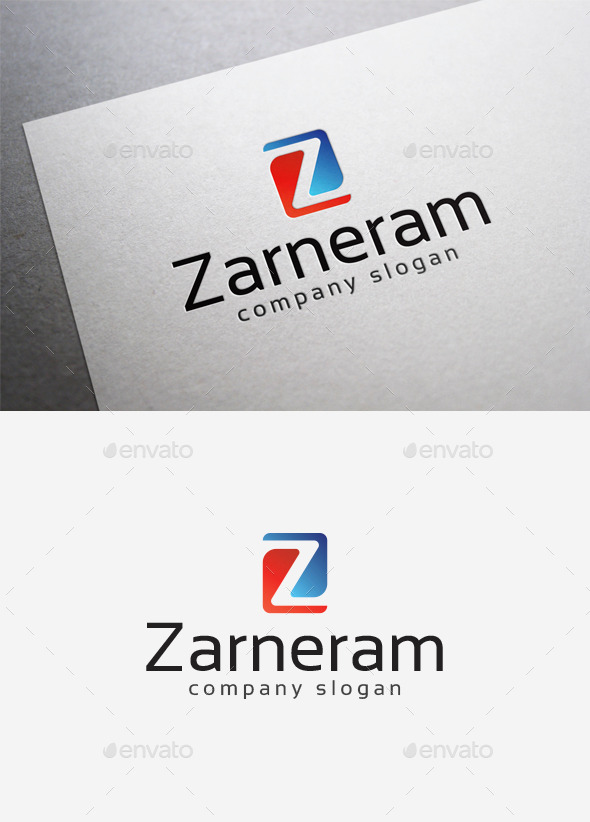 GraphicRiver Zarneram Logo 10004597