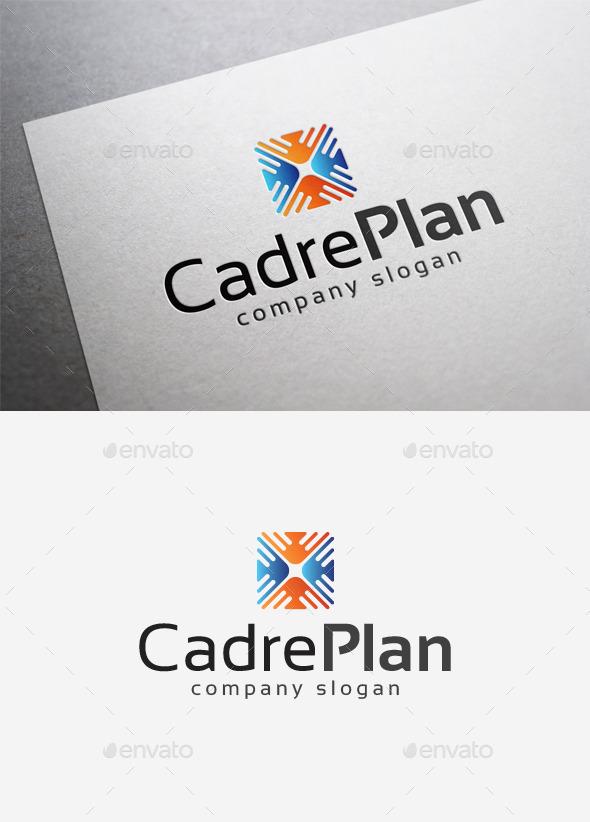 GraphicRiver Cadre Plan Logo 10004621
