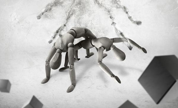 TutsPlus Fantasy Mannequins Moving Through Infinite Space 126687