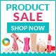 E-commerce Web Banner Design Set - GraphicRiver Item for Sale