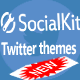 Twitter themes for Socialkit - CodeCanyon Item for Sale