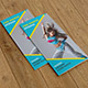 Dance Studio Trifold Brochure-V214 - GraphicRiver Item for Sale