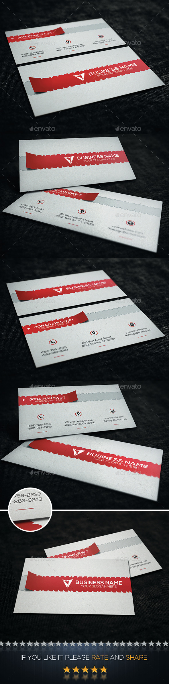 Creative Business Card No.09