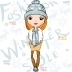 Fashion Girl in Winter - GraphicRiver Item for Sale
