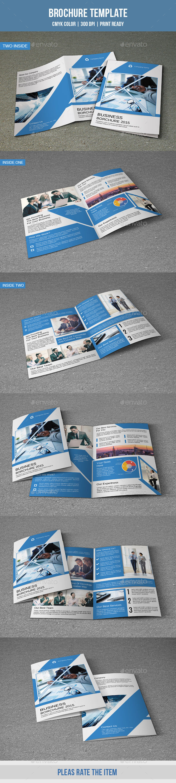 GraphicRiver Corporate Bifold Brochure-V182 10006146