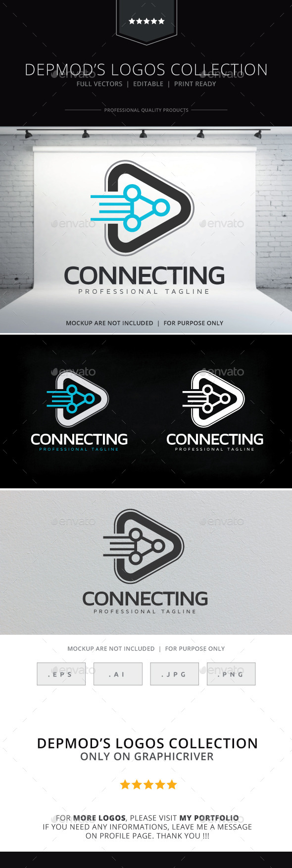 GraphicRiver Connecting Logo 10006534