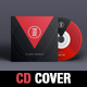 Minimal Music CD Cover Template - GraphicRiver Item for Sale