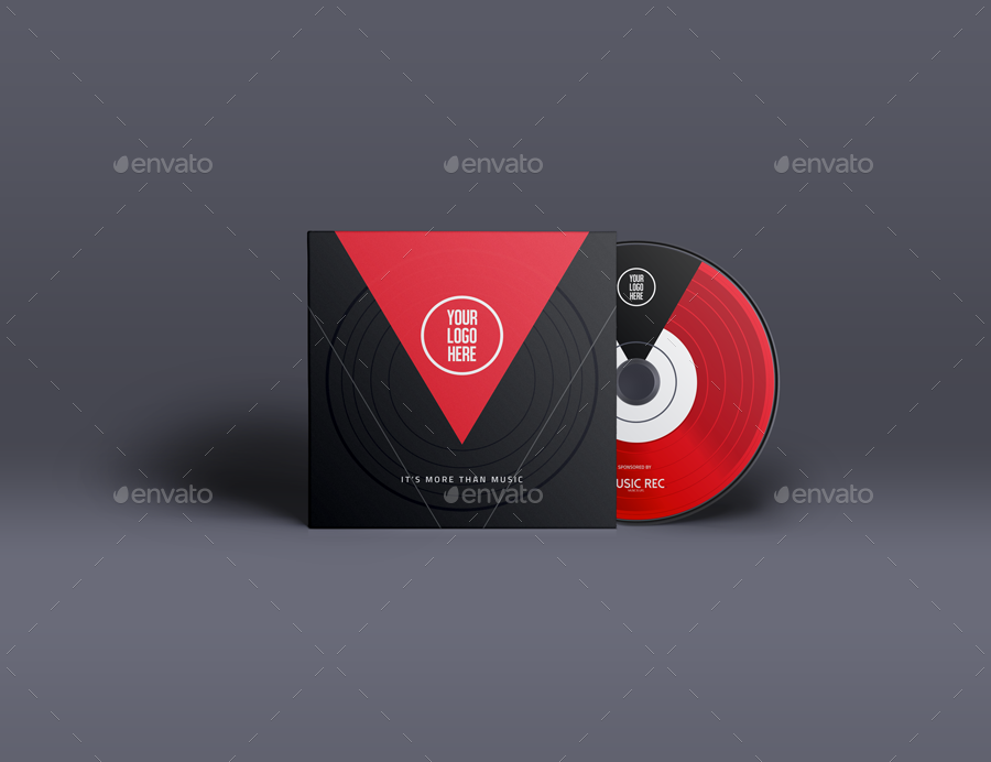 music album template