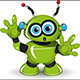 Surprised Robot - GraphicRiver Item for Sale