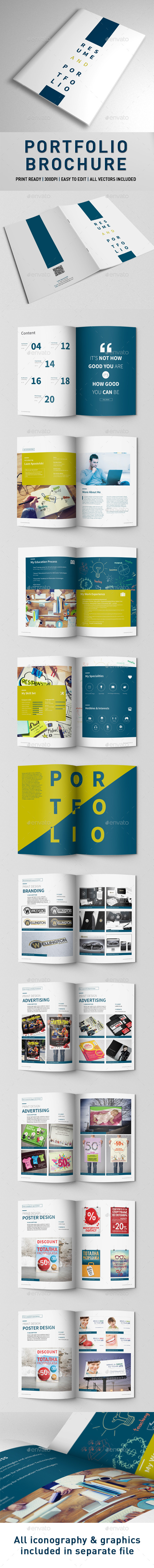 GraphicRiver Portfolio Brochure 9935095