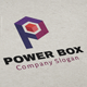 Power Box / Letter P Logo - GraphicRiver Item for Sale
