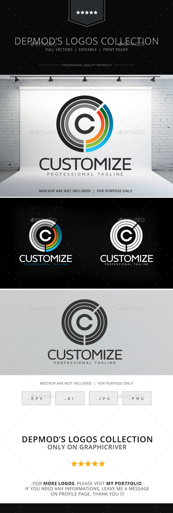 GraphicRiver Customize Logo 10008039