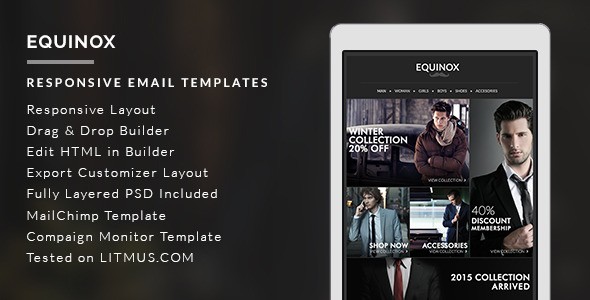 Equinox - Newsletter Template