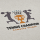 Tennis Champion Logo - GraphicRiver Item for Sale