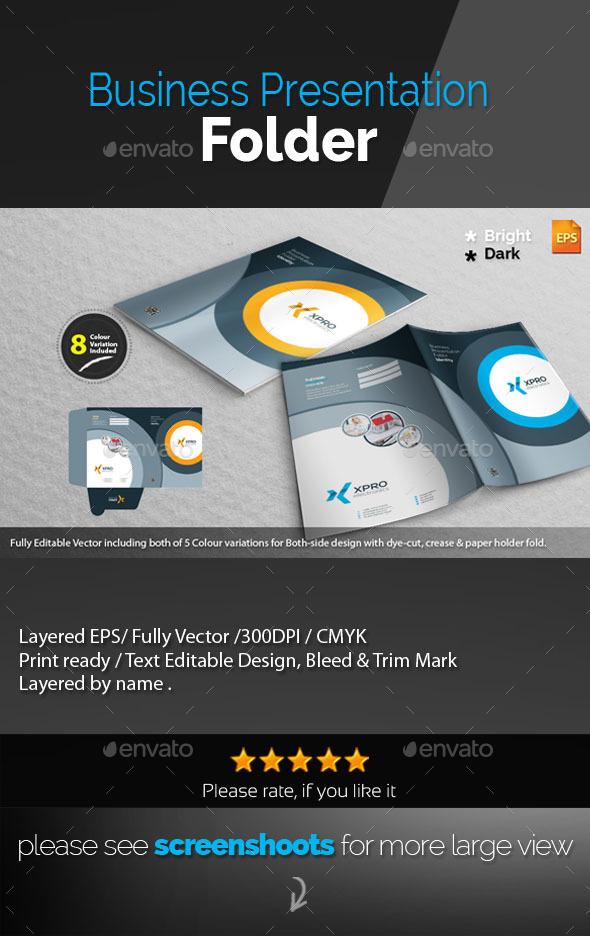 GraphicRiver Xpro Presentation Folder 10008615