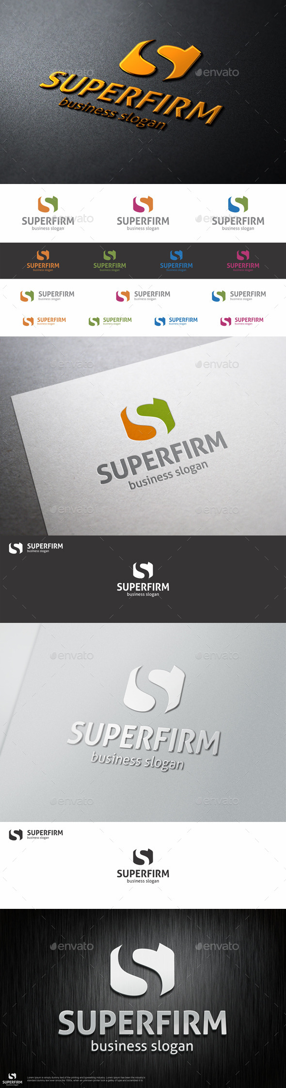 GraphicRiver Super Firm S Logo Letter 10009109