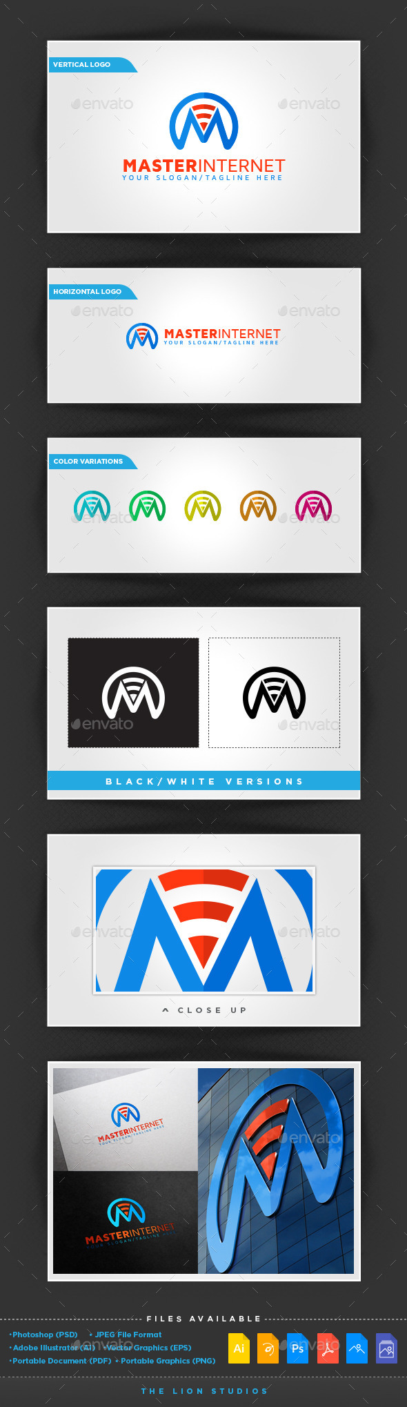 GraphicRiver Master Internet Logo Template 10009117
