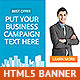 Corporate HTML5 Animated Banner 3