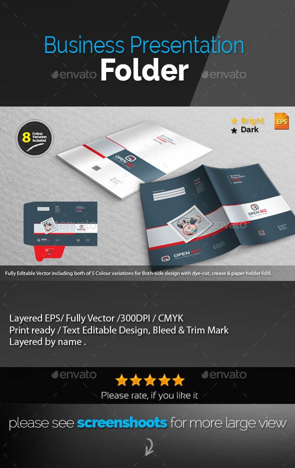 GraphicRiver Corporate Presentation Folder 10009461