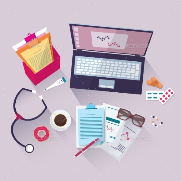 GraphicRiver Medical Workplace 10009519