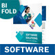 IT – Software Bifold / Halffold Brochure - GraphicRiver Item for Sale