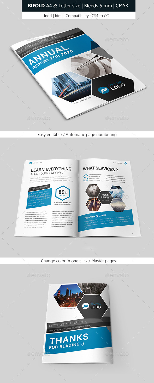 GraphicRiver Creative Indesign Brochure Bifold Template 10010178