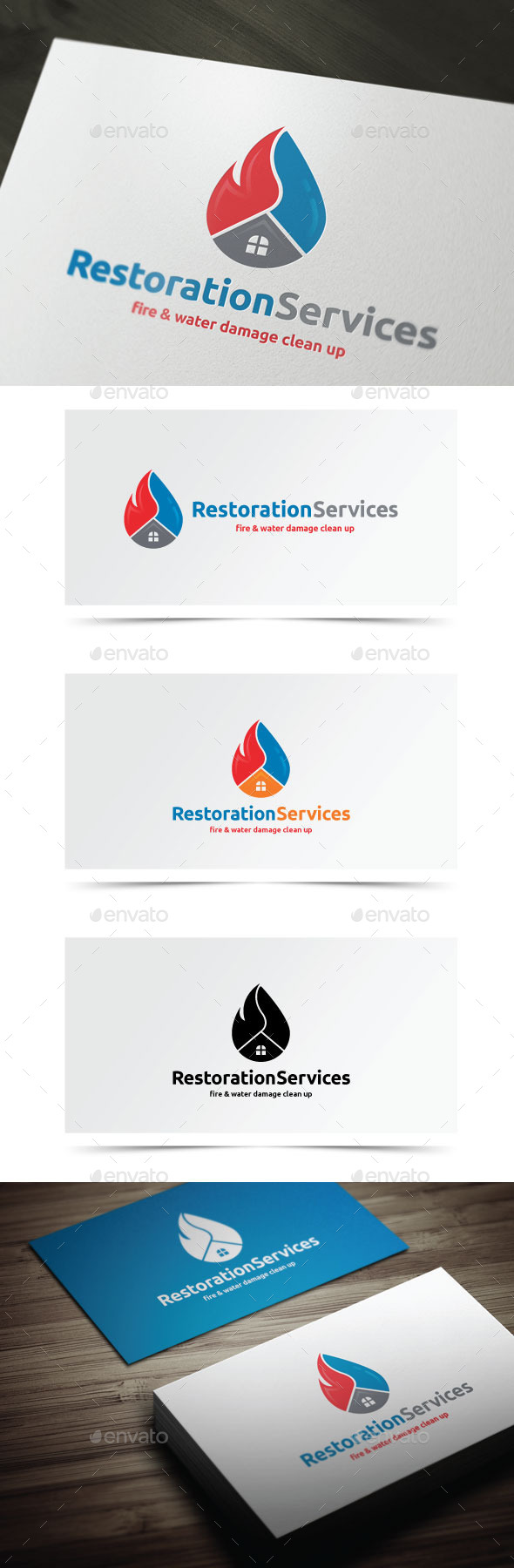 GraphicRiver Restoration Services 10010199