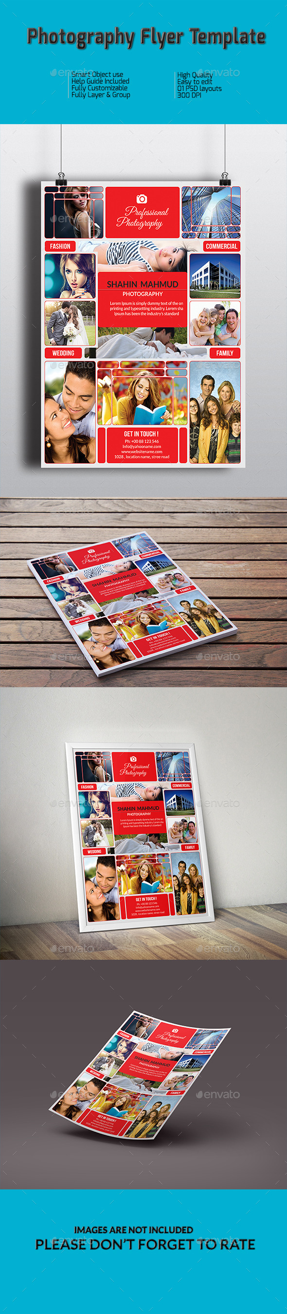 GraphicRiver Photography Flyer Template 10010237