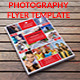 Photography Flyer Template - GraphicRiver Item for Sale