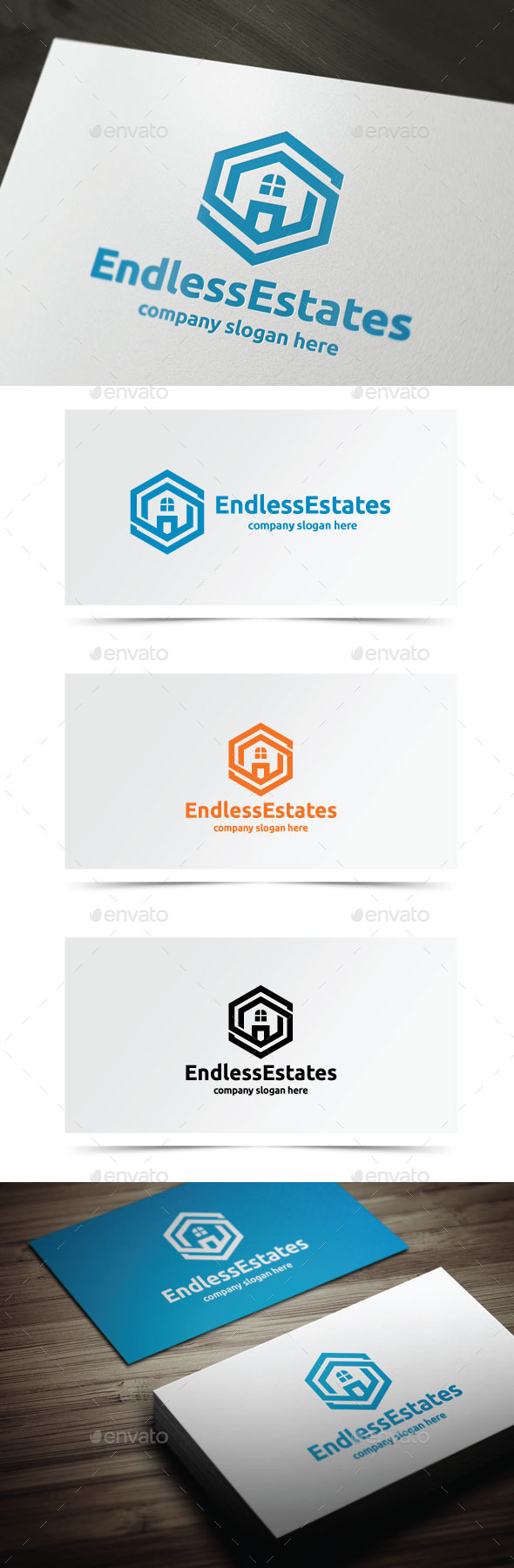 GraphicRiver Endless Estates 10010304