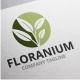 Floranium Logo - GraphicRiver Item for Sale