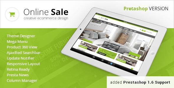 OnlineSale Premium Prestashop Theme