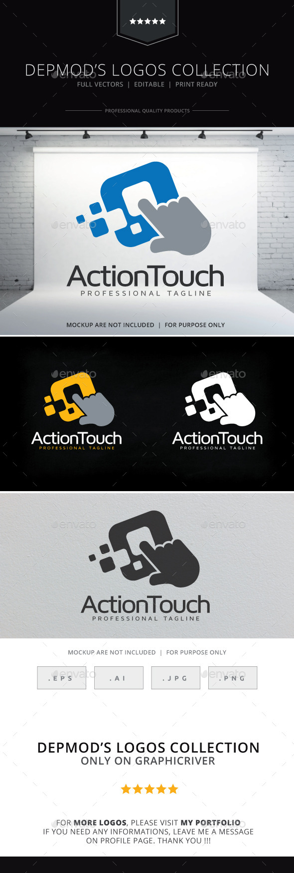 GraphicRiver Action Touch Logo 10010976