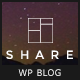 Share - A personal blog theme for sharing stories and experiences - ThemeForest Item for Sale