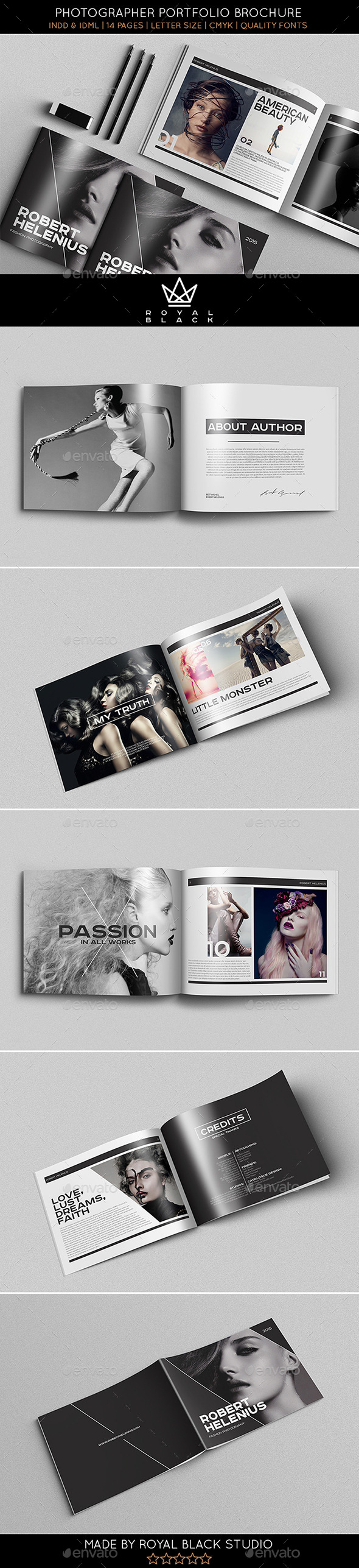 GraphicRiver Portfolio Brochure Vol.5 10011379