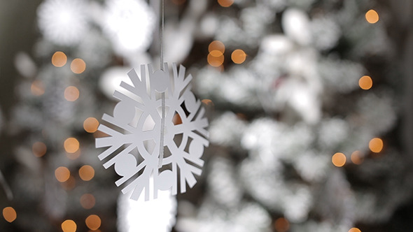 Christmas Paper Snowflakes