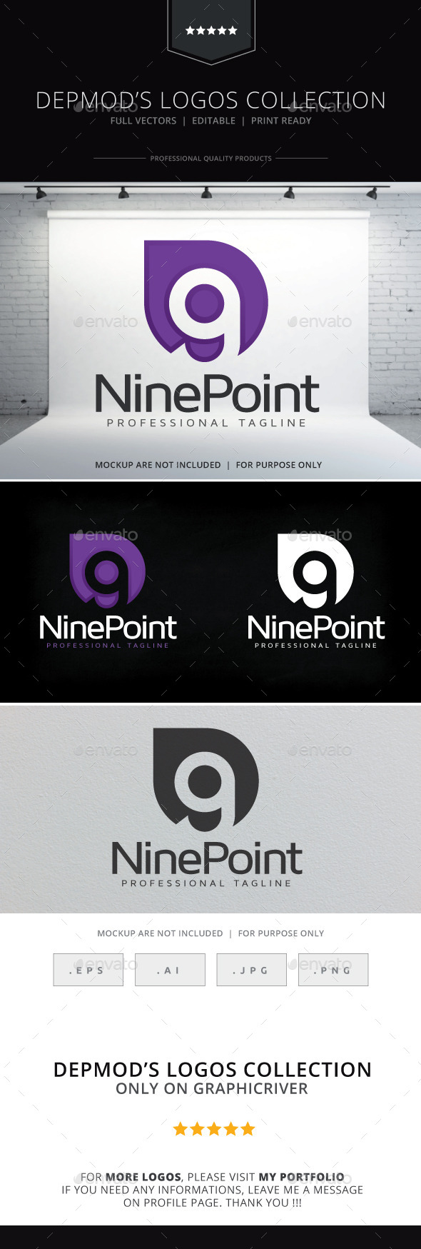 GraphicRiver Nine Point Logo 10011798