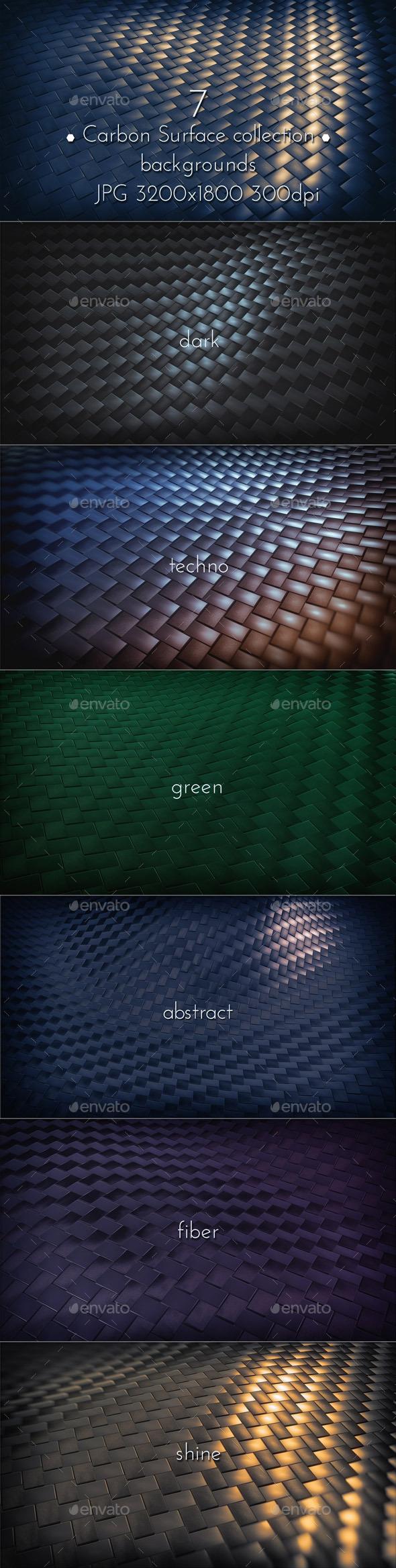 GraphicRiver Dark Carbon Background 10012133