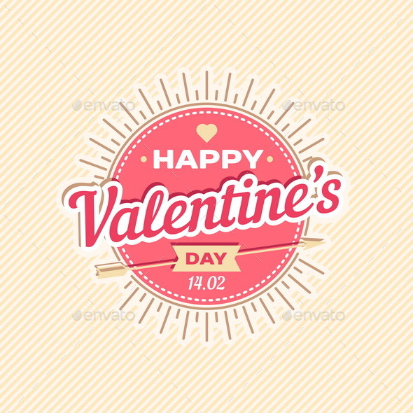 GraphicRiver Happy Valentine s Day Greeting Card 10012139
