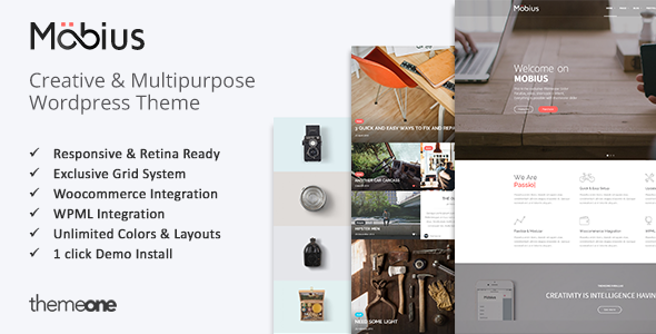 ThemeForest Mobius Responsive Multi-Purpose WordPress Theme 8467936
