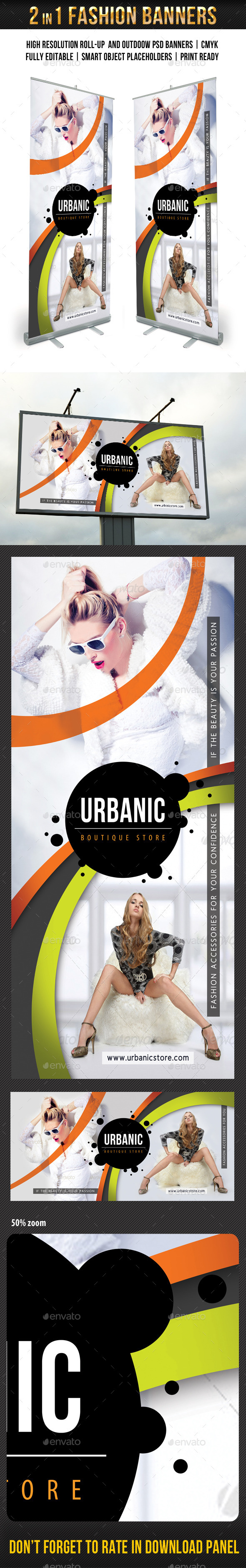 GraphicRiver Fashion Banner Templates Pack 10012332