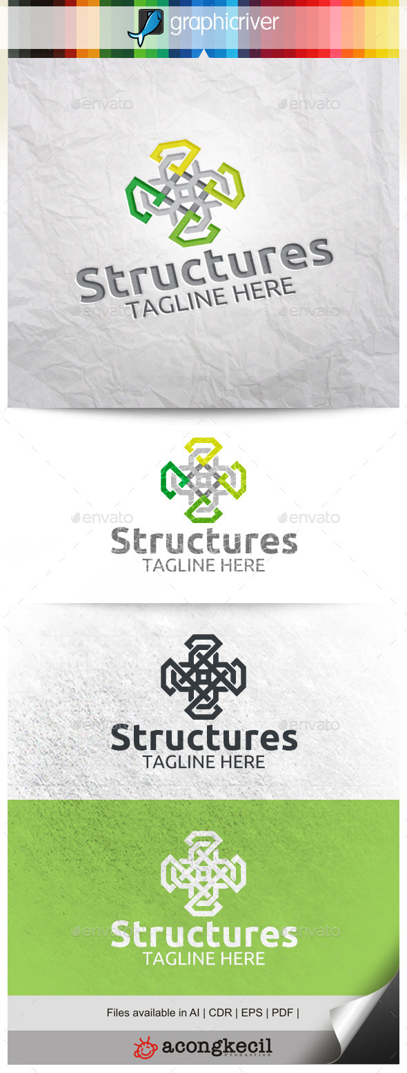 GraphicRiver Structures V.2 10012504