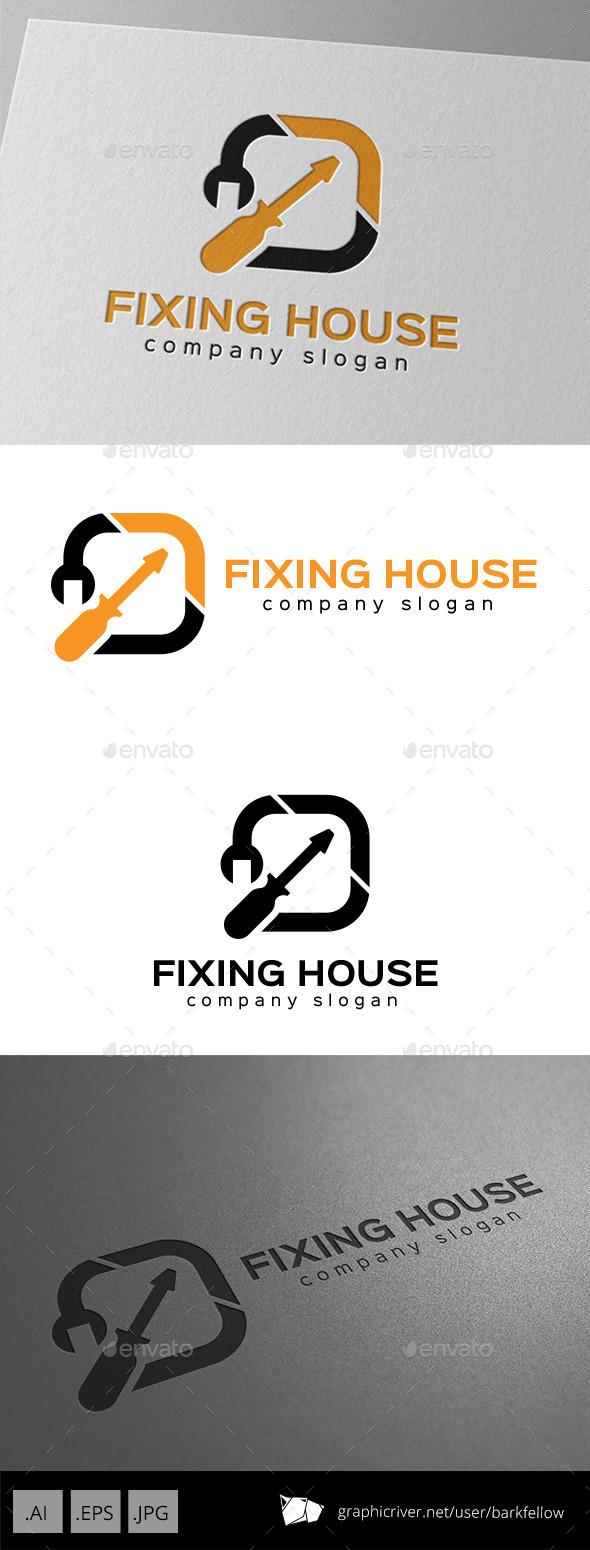 GraphicRiver Repair Service Logo 10012710