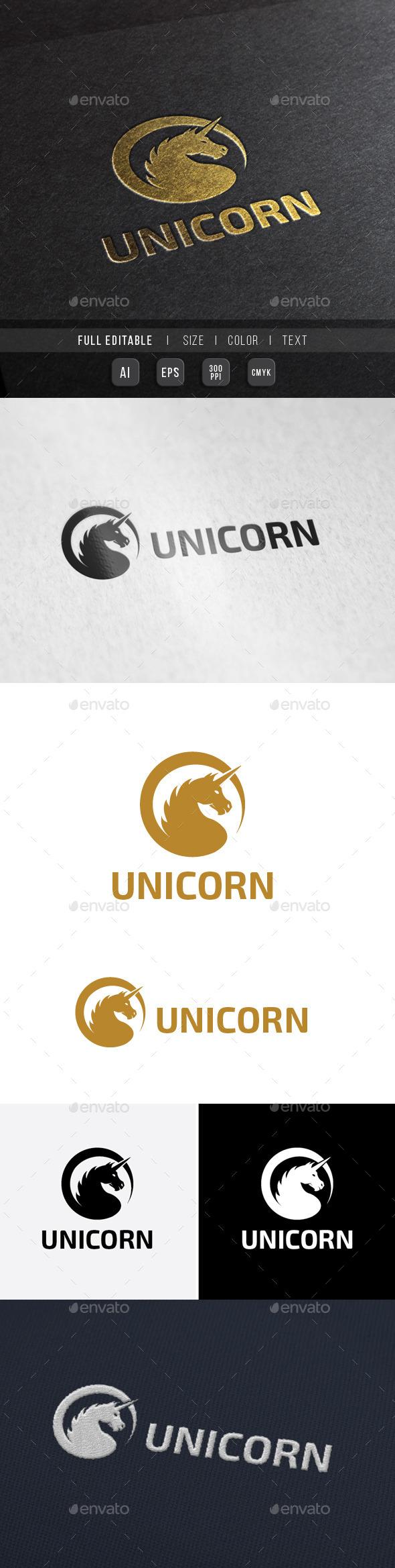 GraphicRiver Royal Knight Unicorn 10012850